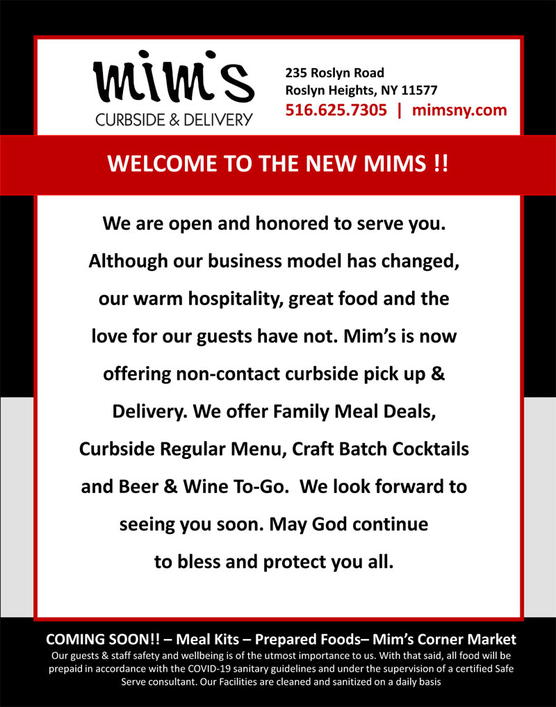 WELCOME TO THE NEW MIMS !!